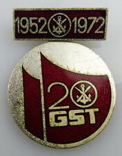 Distintivo: 20 anni GST 1952-1972, 1978 medaglie