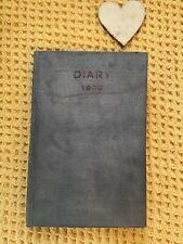 More details for rare antique 1935 maida vale hospital for nervous disorders hospital diary