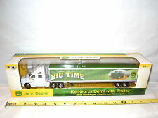 John Deere Ready For The Big Time Kenworth Semi  By Ertl    1/64th Scale
