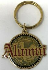 New California State University, Chico Wildcats Alumni Brass Key Chain Ring