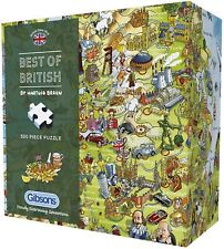 Gibsons Best of British 500 Piece Gift Box Jigsaw Puzzle