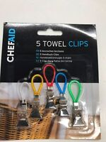 CHEF AID TOWEL CLIPS/ MRS HINCH....PACK OF 5