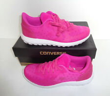 New CONVERSE Thunderbolt Ladies Pink & White Lace Up Shoes Trainers UK Size 4