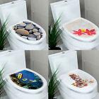 Bathroom DIY Toilet Seats Wall Stickers Decoration Decal Vinyl Mural Home Decor