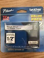 "Brother International Tze1312pk Label Tape - 0.50"" Width"