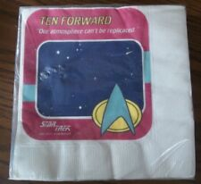 STAR TREK The Next Generation PARTY Luncheon NAPKINS Pack of 16 Still Sealed
