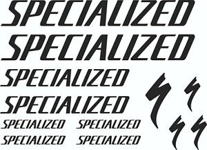 specialized stickers vinyl decals graphics frame bicycle set emblem s-works new