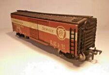 Vtg. Fleischmann 1427 HO Pennsylvania PRR Merchandise Sliding 2-Door Box Car