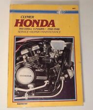 Honda V-Fours 700cc - 1100cc Shop Repair Manual Clymer 82-1988 1985 1986 1987