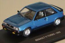 Renault 11 Turbo 1985 blau 1:43 Solido 4304500 neu & OVP