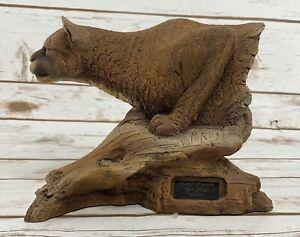 """Neil J Rose """"Silent Stalker"""" Limited Edition Sculpture 568/2500 Cougar"""