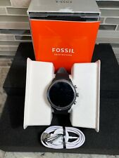 Fossil Men's Sport Metal and Silicone Smartwatch with Heart Rate FTW4019 Open Bo