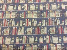 Lecien - Alice In Wonderland Storybook Fabric - 100% Cotton By 1/4 Metre