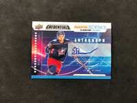 2019-20 UPPER DECK CREDENTIALS EMIL BEMSTROM ROOKIE SCIENCE AUTO #RS-13