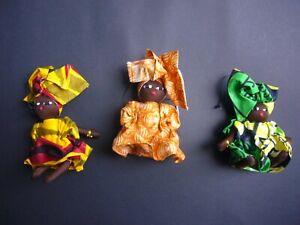 SALE! African Masai Kanga Kitenge Doll Hanging Ornament - Fairtrade Craft Gift