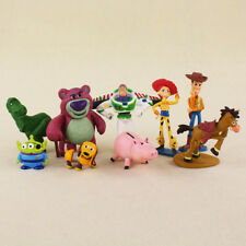 9x Toy Story 3 Action Figures Doll Woody Buzz Lightyear Rex Toys For Kids Gift