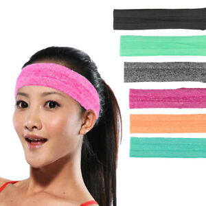 PP Cotton Headband Silica Gel Non-slip Sweatband Multi-color Sports Accessories