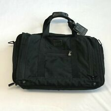 TUMI Black Ballistic Nylon Expandable Weekend Garment Travel Bag 278D3 No Strap
