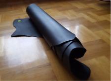 Veg Tan Leather 2,5-3,0 mm Black Finished Side Full Grain Premium Quality Belts