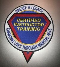 Karate Patch Certified Instructor Training 5 inch