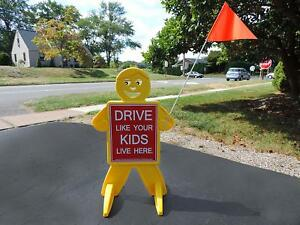 Drive Like Your Kids Live Here Slow Down Kids at Play Sign Children at Play Sign