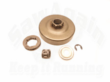 CLUTCH DRUM RIM SPROCKET, BEARING KIT FITS STIHL 044 046 MS 440 460