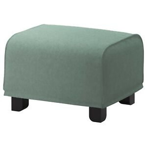 Ikea cover set for Gronlid Footstool in Tallmyra Light Green