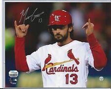 Matt Carpenter St. Louis Cardinals Signed Autographed 8x10 Photo Fanatics COA