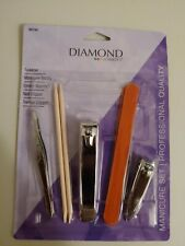 Diamond— Manicure Set—Manicure Stick—Finger&Toe Nail Clippers—Tweezer—Emor y File