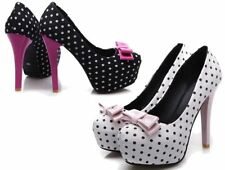 Stiletto Synthetic Pump, Classic Casual Heels for Women