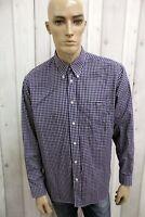 LACOSTE Uomo Camicia Francia Shirt Cotone Casual Chemise Manica Lunga Taglia XL