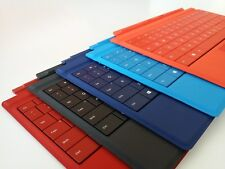Genuine Microsoft Surface 3 Type Cover Keyboard with Backlit, Black, Red, Orange