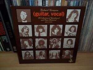 RICHARD THOMPSON (guitar,vocal) 1984 HANNIBAL 2xLP Sandy Denny FULL PLAY TEST
