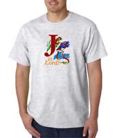 Gildan Short Sleeve T-shirt Christian Jesus Is Lord