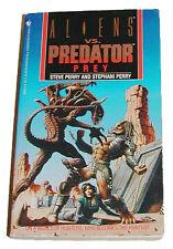 ORIGINAL PREY ALIEN VS PREDATOR BOOK BY STEVE & STEPHANI PERRY (BANTAM EDITION)