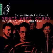 1-CD MERIDIAN ARTS ENSEMBLE BRASS QUINTET - SMART WENT CRAZY (1993) (CONDITION: