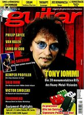 Tony Iommi Philip Sayce Van Halen Chitarra Workshops Playalongs Tests