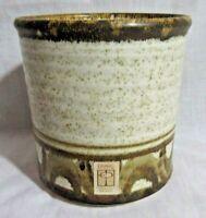 Vintage EVANGEL Crock, Planter, Pot, Vase, New Mexico Art Pottery,Signed+Sticker