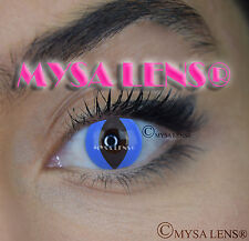 Crazy Coloured Contact Lenses Kontaktlinsen color contact lens Blue Cat