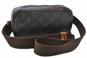 Authentic Louis Vuitton Monogram Pochette Gange Cross Body Bag M51870 LV D2195