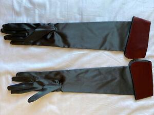 Stunning Cuffed Opera Gloves By Semoneta Size 7.5