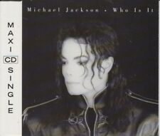 Michael Jackson 5 track cd single Who Is It 1992
