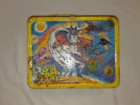 Vintage Battle of the Planets Yellow Metal Lunch Box 1979 Free S&H