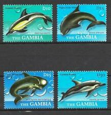 Gambie 2010 baleines n° 4973 à 4976 neuf ** 1er choix