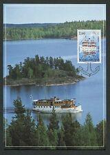FINNLAND MK LAKE SAIMAA SCHIFF SHIP MAXIMUMKARTE CARTE MAXIMUM CARD MC CM c9409
