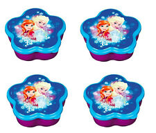 4 Pack of Disney Frozen Anna and Elsa Tiny Storage Boxes
