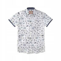 Joe Browns New Men's Short Sleeve Shirt Surf Summer Pattern Pocket RRP £35 BNWT