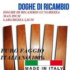 DOGA DOGHE DI RICAMBIO PER RETI LETTO IN LEGNO-TUTTE LE MISURE- LARGHEZZA 5.3 cm
