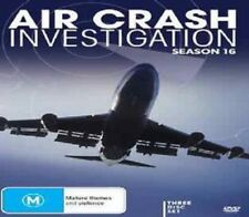 AIR CRASH INVESTIGATIONS : SEASON 16 - DVD - UK Compatible