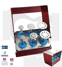 Dental Saw Disk Kit , Diameters 7 , 10 and 14mm / Dental Surgical Implant Kit